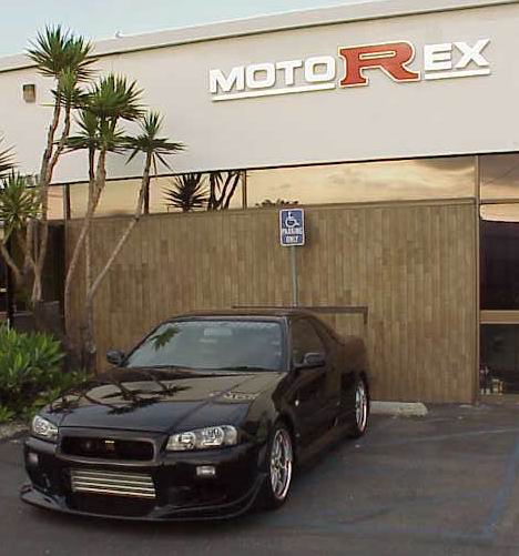 MotoRex US legal R34 GT-R : This car is called Blackbird : It is not currently for sale