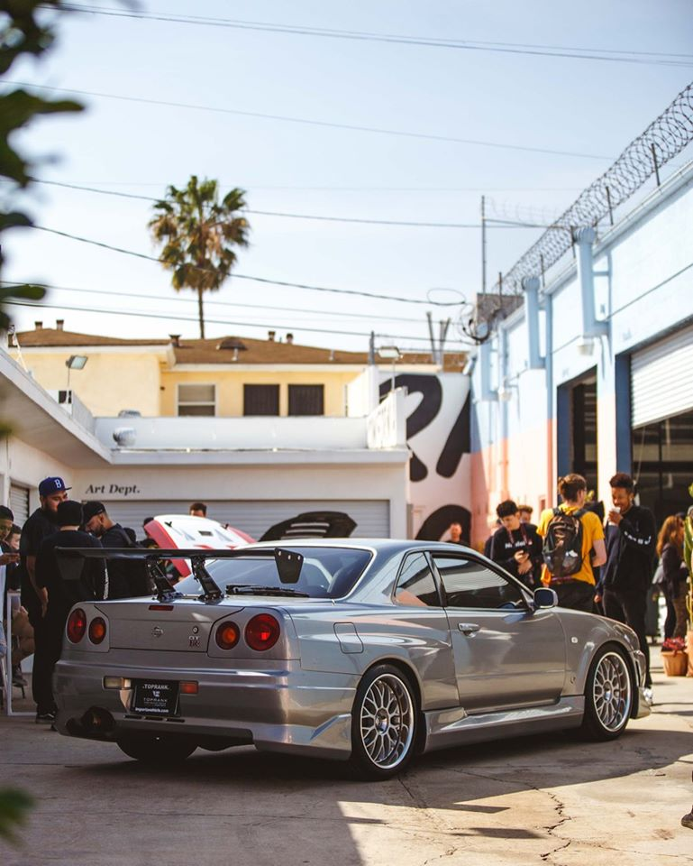 Paul Walker R34 GT-R at Race Service For Sale