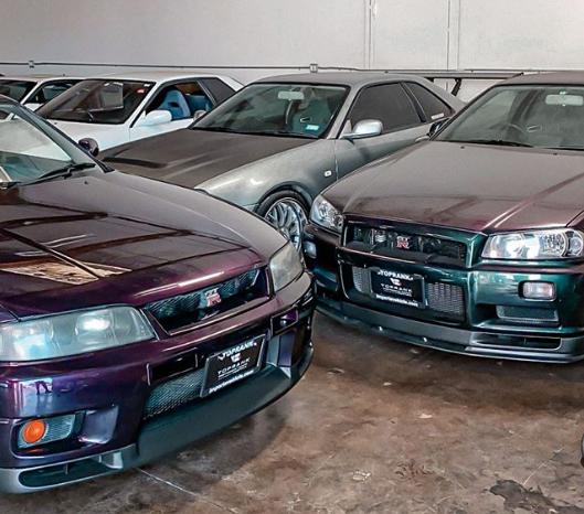 Midnight Purple R33 Nissan Skyline GT-R Toprank Importers