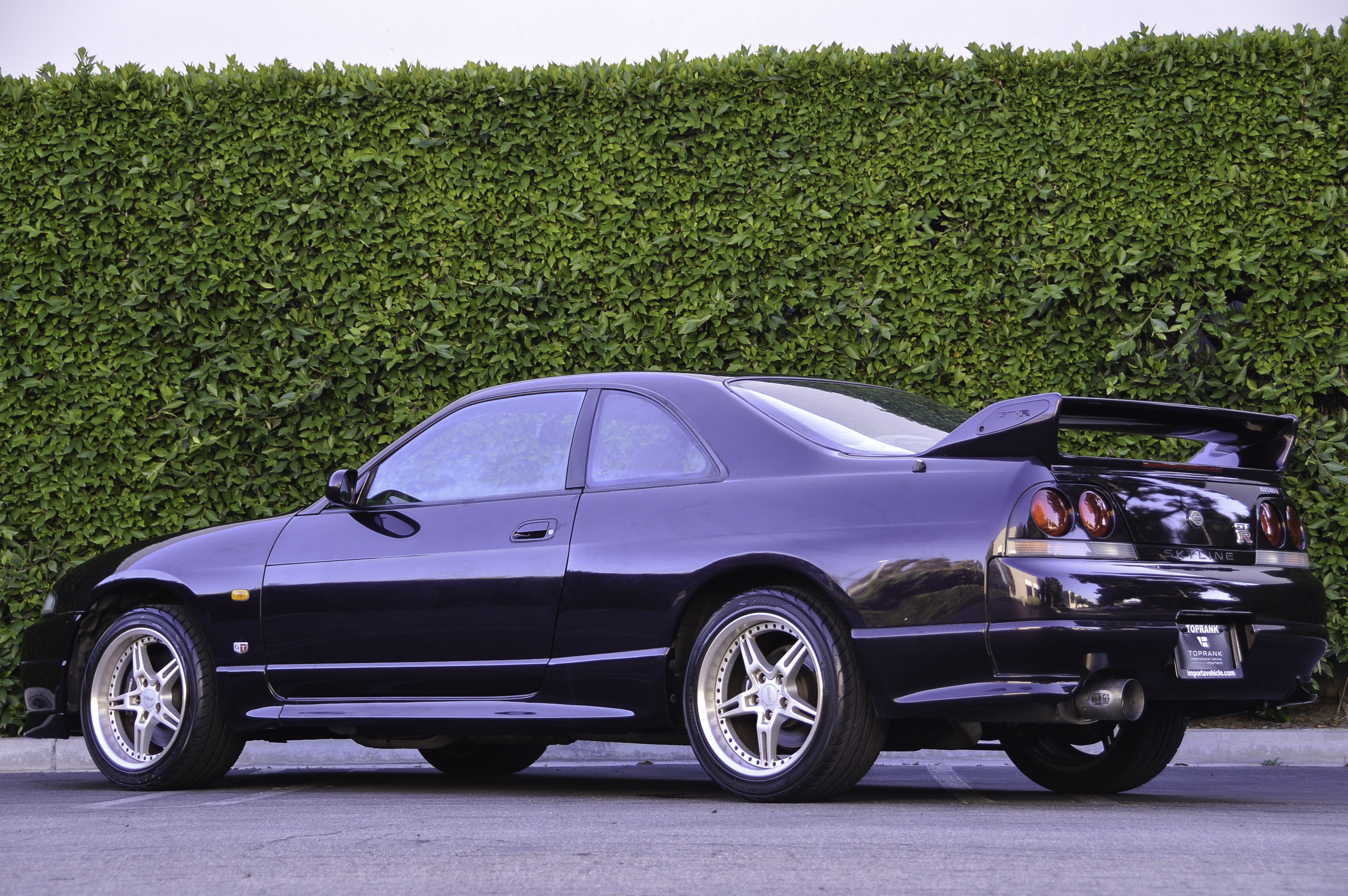Midnight Purple R33 Nissan Skyline GT-R Toprank Importers