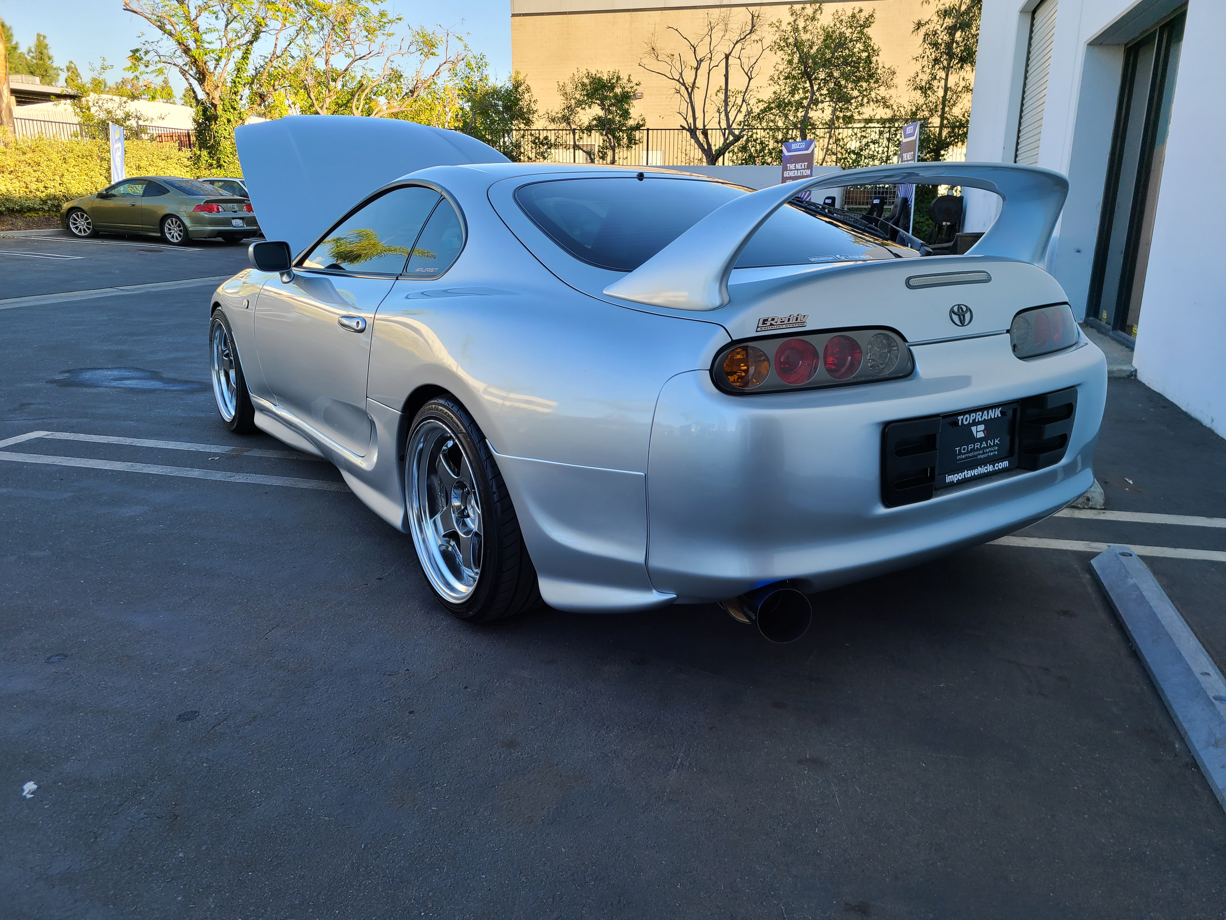 JDM Toyota Supra imported by Toprank Importers
