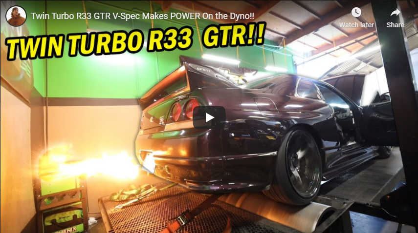 Dustin Williams R33 GT-R from Toprank Importers