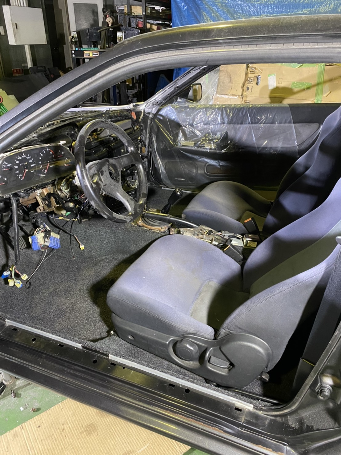Left Hand Drive R32 GT-R From Toprank Importers