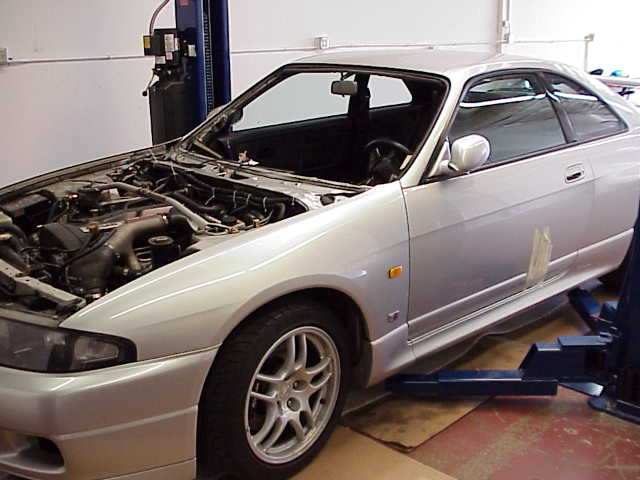 Left Hand Drive R33 GT-R