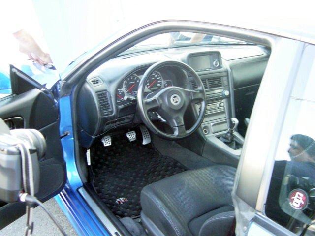 Left hand drive Nissan Skyline GT-R R34