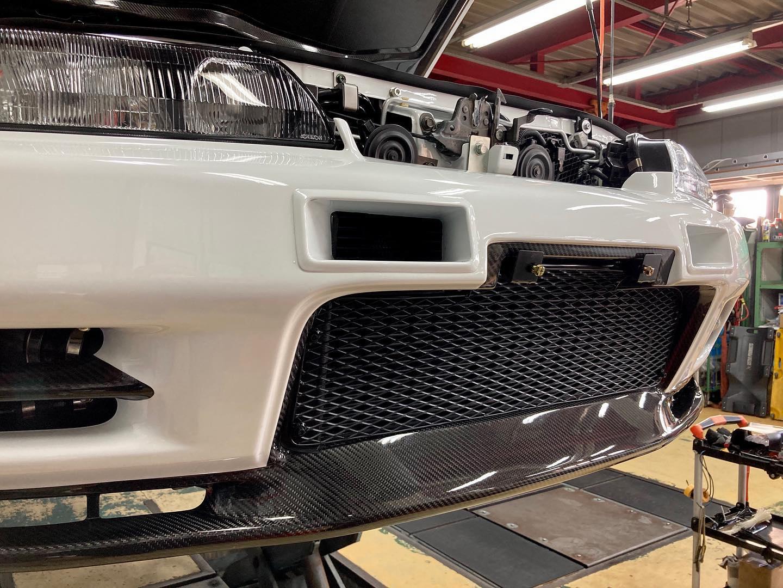 Built by Legends Nissan Skyline R32 carbon fiber front bumper