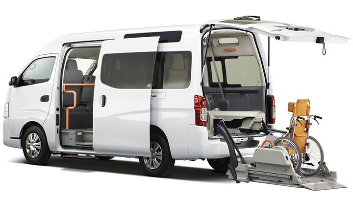Autech NV350 handicap caravan in Japan
