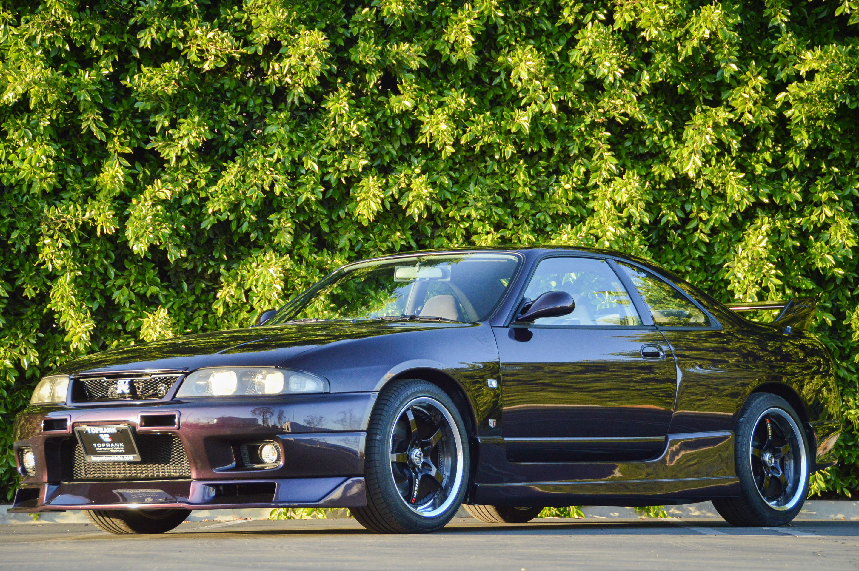 R33 GTR Skyline for sale at Toprank Importers in the USA