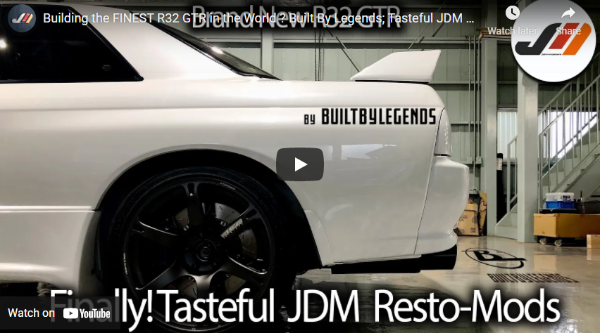 Building the FINEST R32 GTR in the World ? Built By Legends