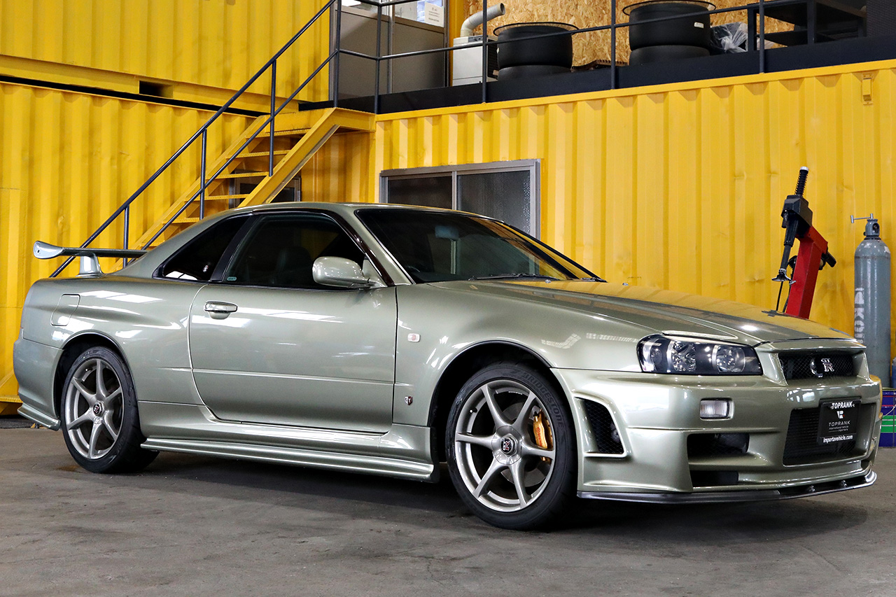 Show or Display approved Nissan Skyline GT-R from Toprank Importers