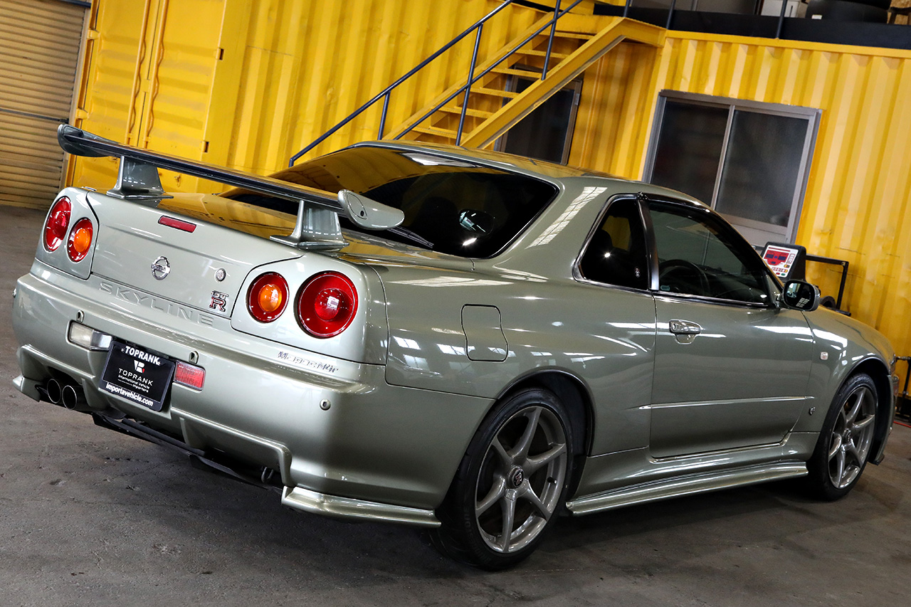 Mspec Nur R34 GT-R eligible for import under the Show or Display exemption