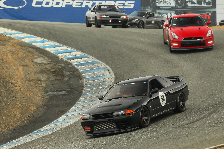 R32 GT-R at Laguna Seca R's Day Toprank Importers