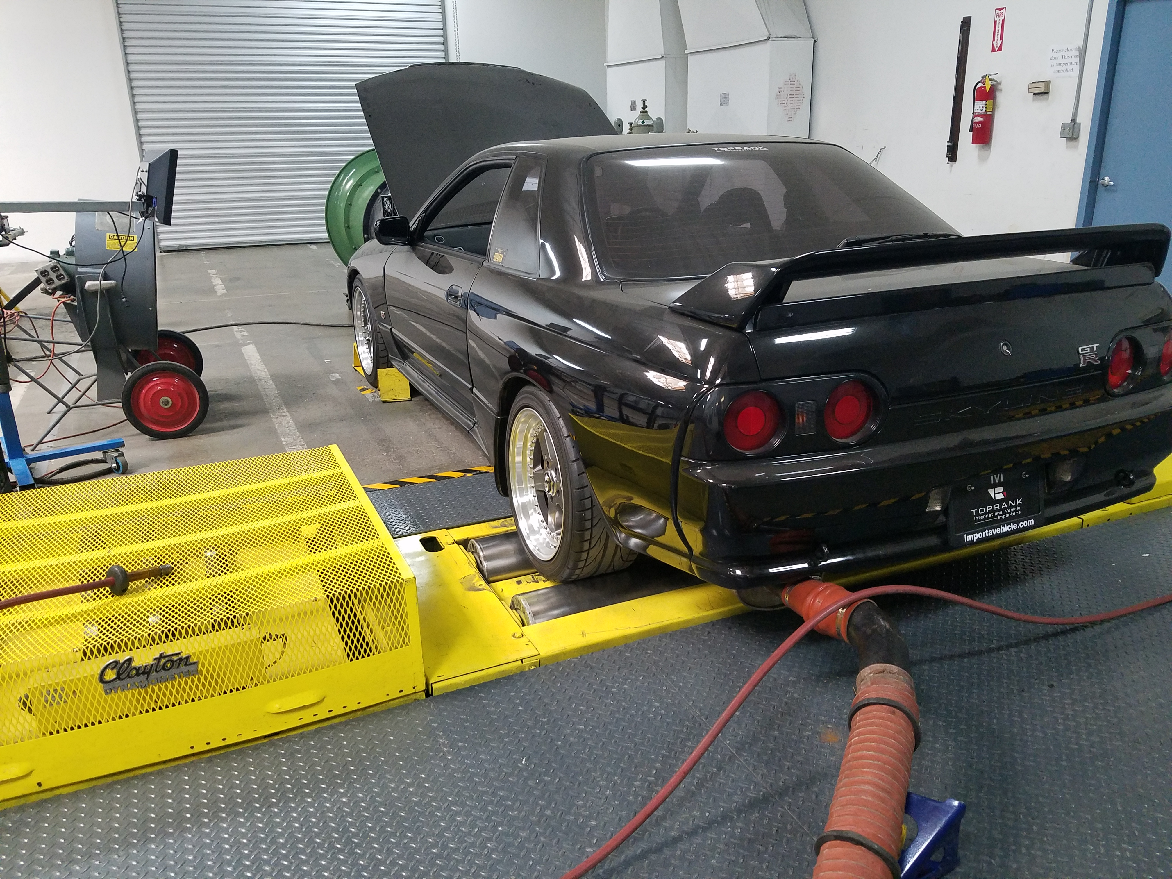 Japanese import Nissan Skyline California Legal
