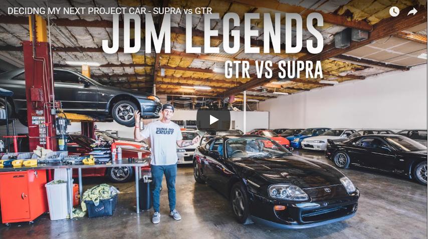 Toyota Supra vs Nissan Skyline GT-R