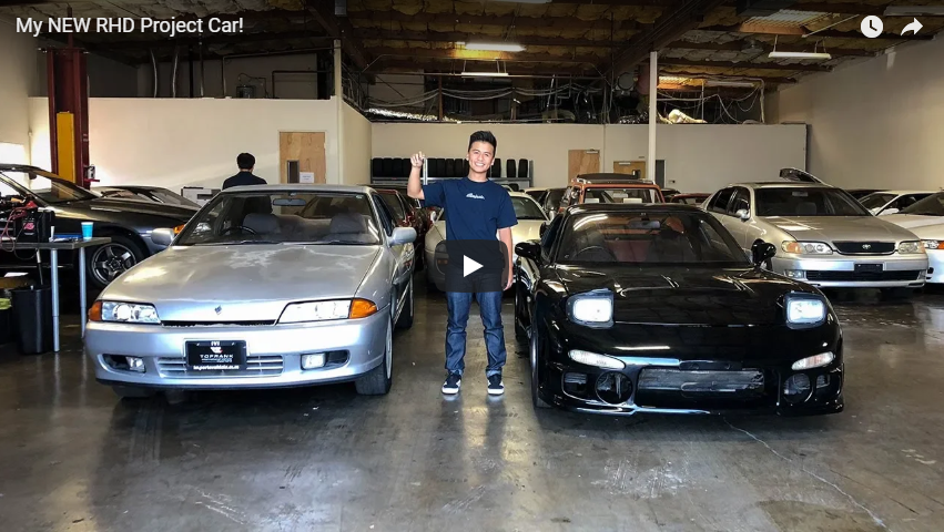 Randy from Illiminate picks up his new project car
