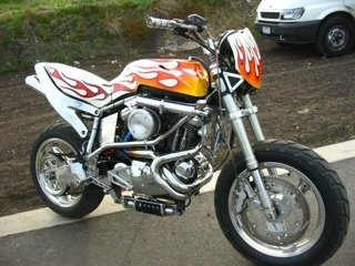 1999 Buell Johnny Blaze Motorcycle
