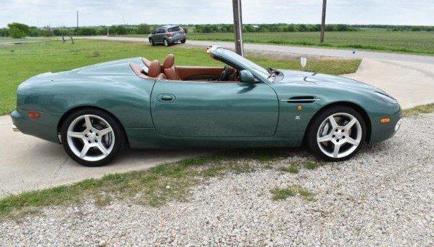 2003 Aston Marton DB7 DB AR1 Zagato