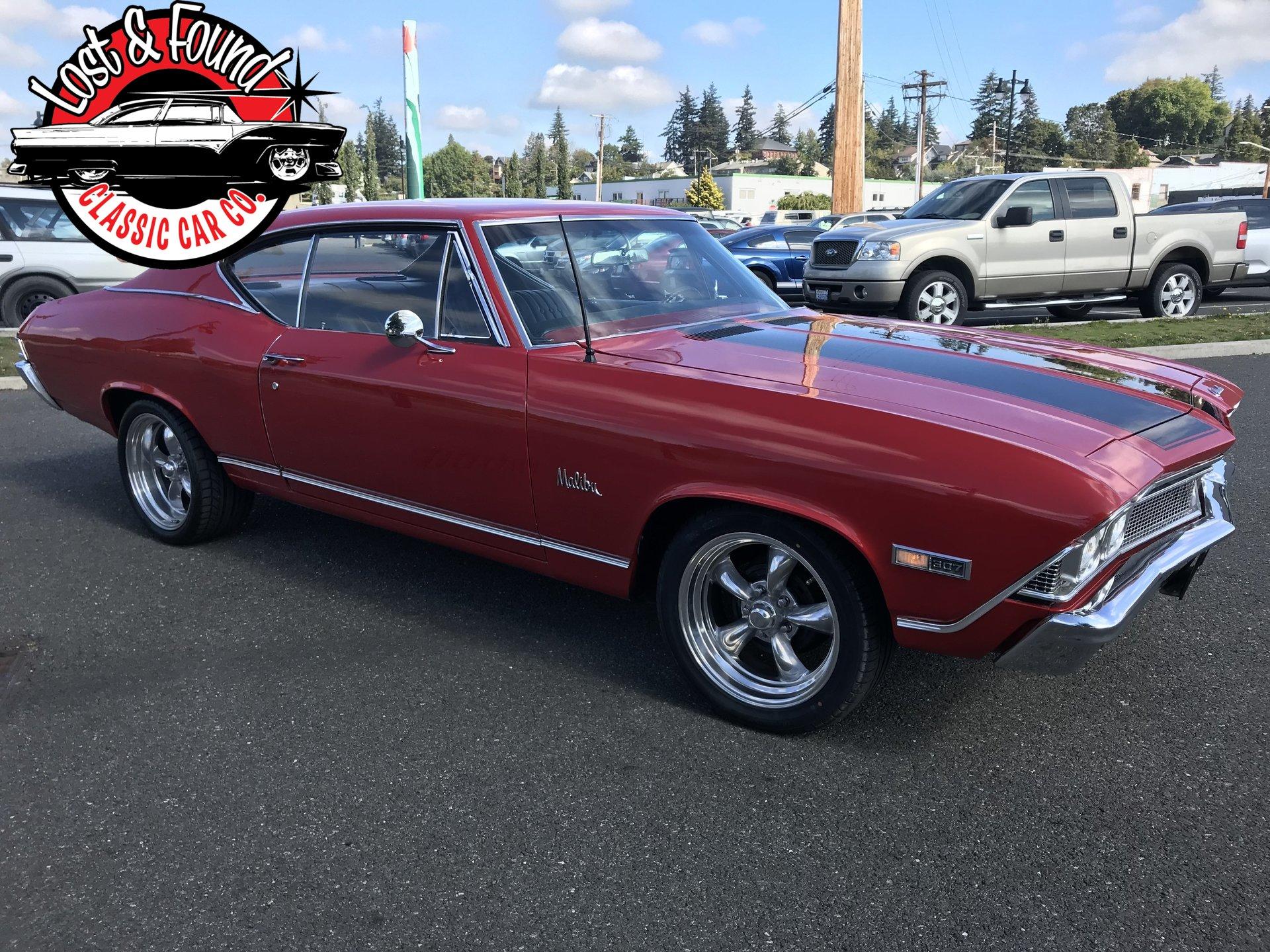 1968 Chevrolet Chevelle Malibu Lost Amp Found Classic