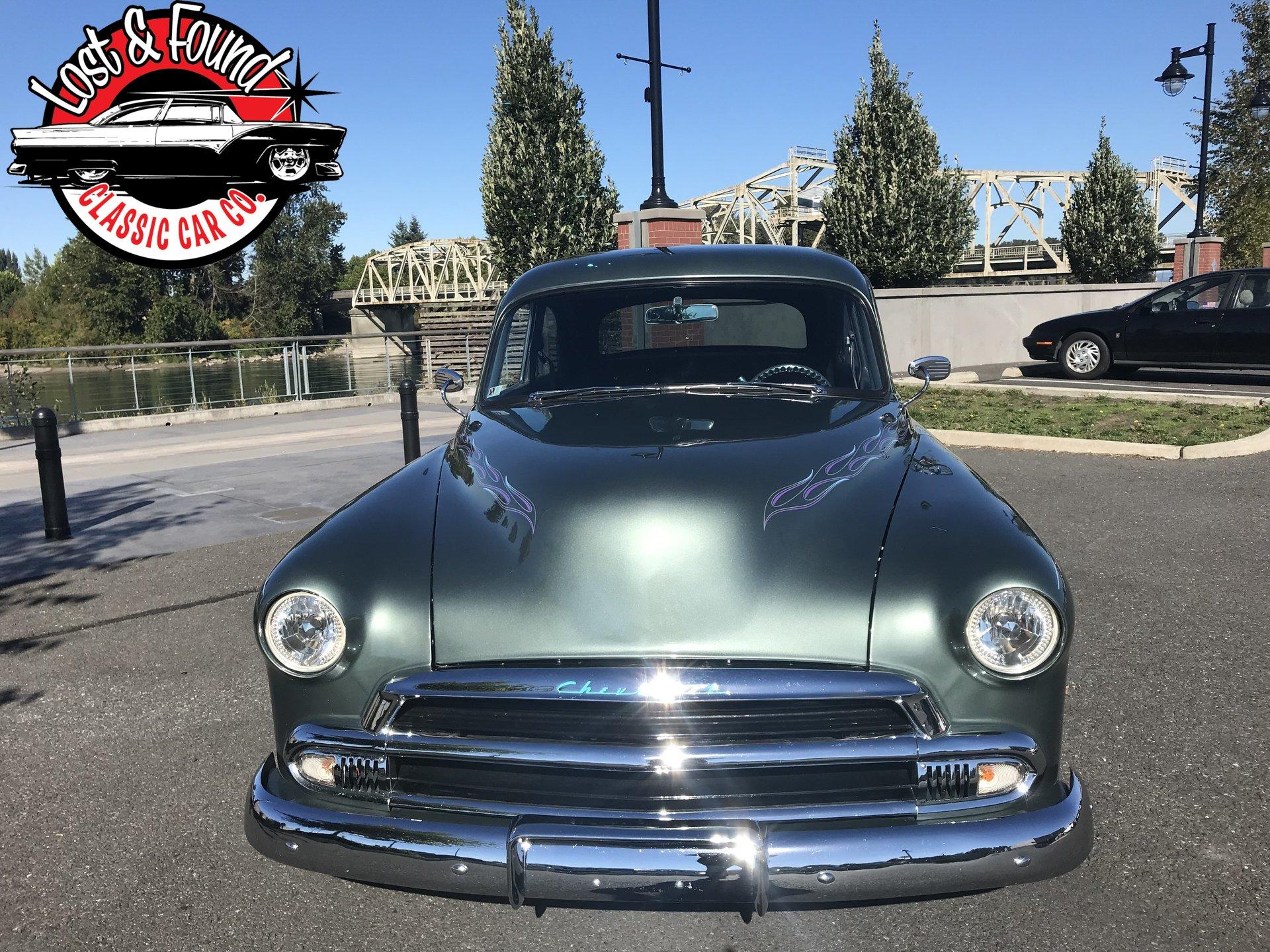 1951 Chevrolet 2 Door Sedan Street Rod Berlin Motors Hardtop For Sale