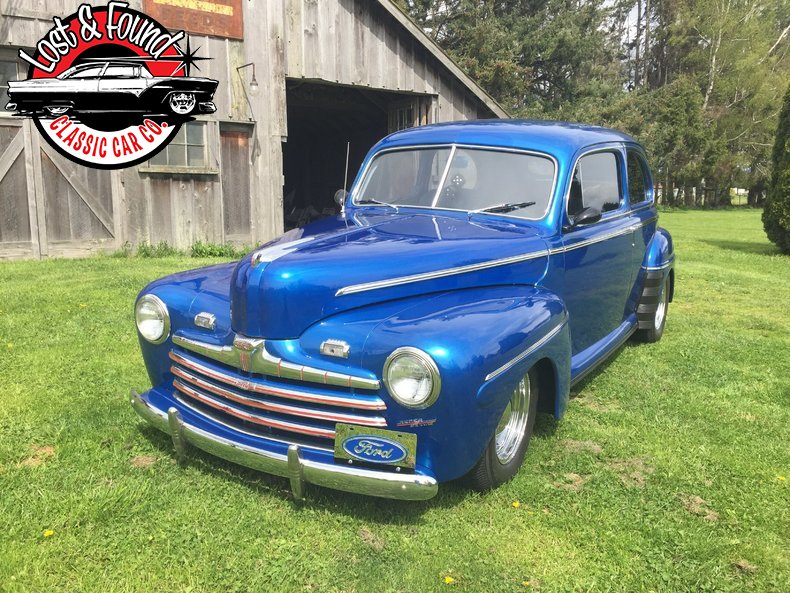 1946 ford sedan for sale 49415 mcg for Garage ford vernon 27200