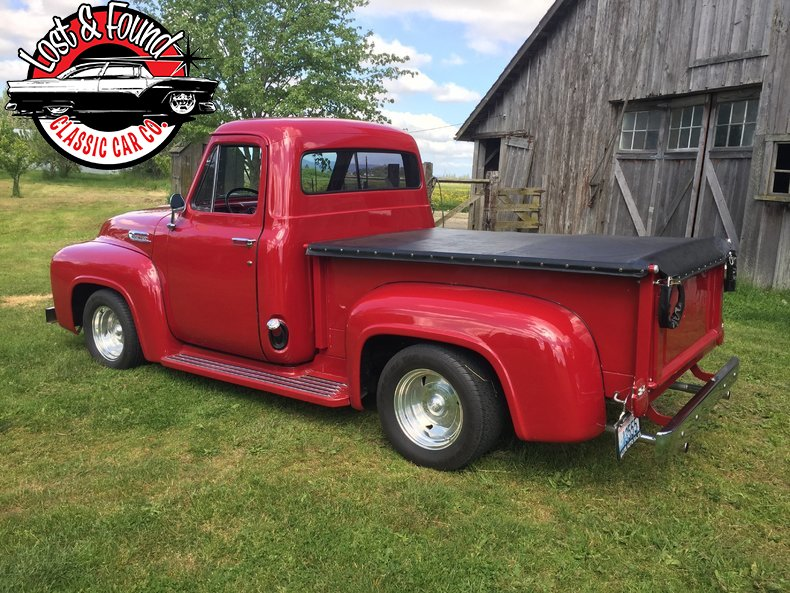 1953 ford f 100 pu for sale 51946 mcg for Garage ford vernon