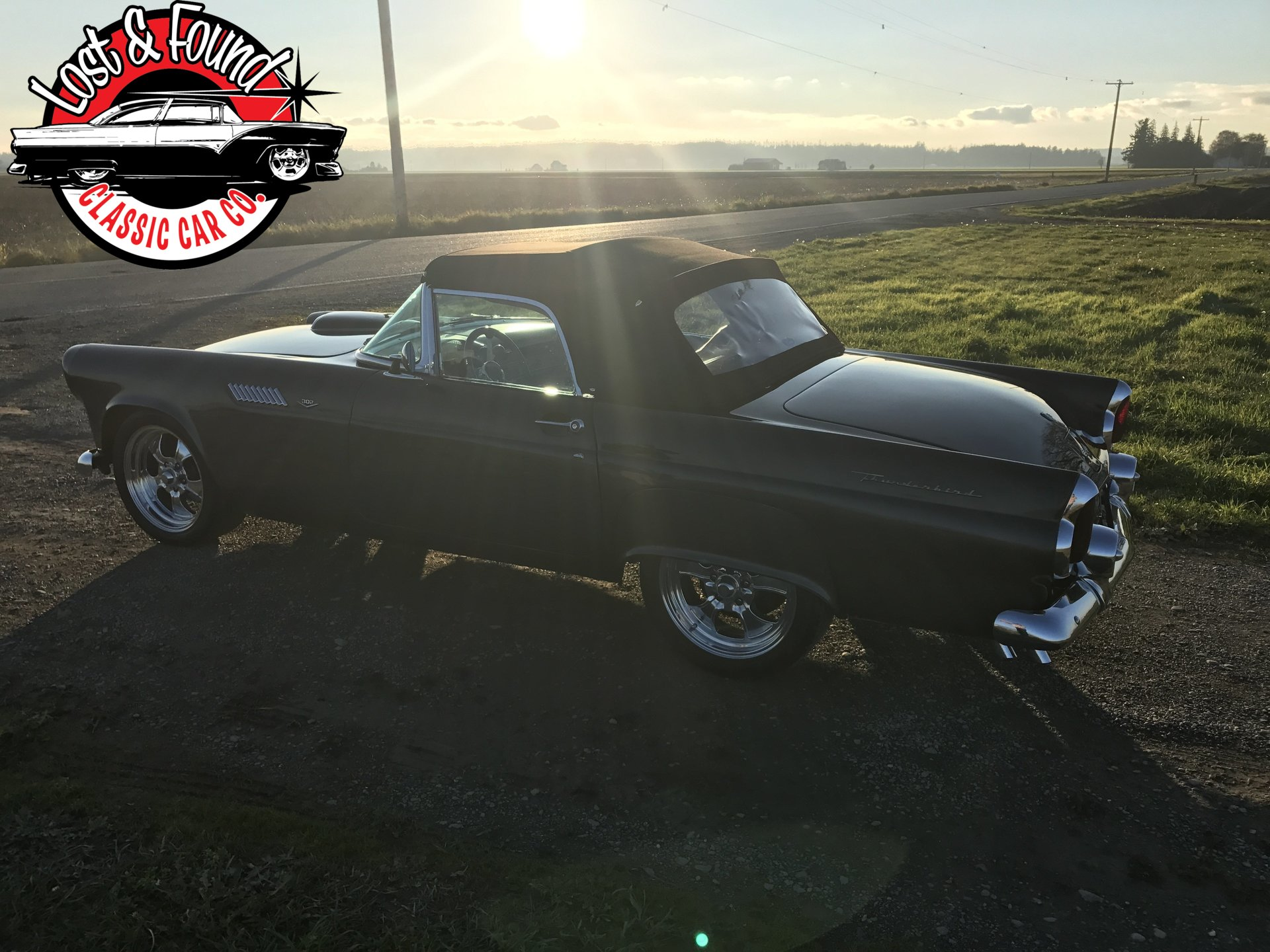 1955 Ford Thunderbird Streetrod Lost Found Classic Car Co Coupe Suspension