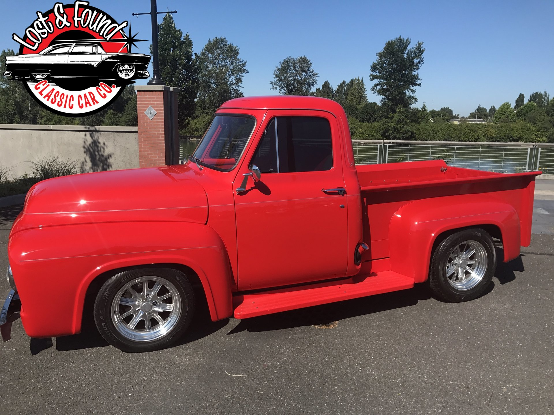 1954 Ford F100 Pickup Truck Lost Found Classic Car Co Pick