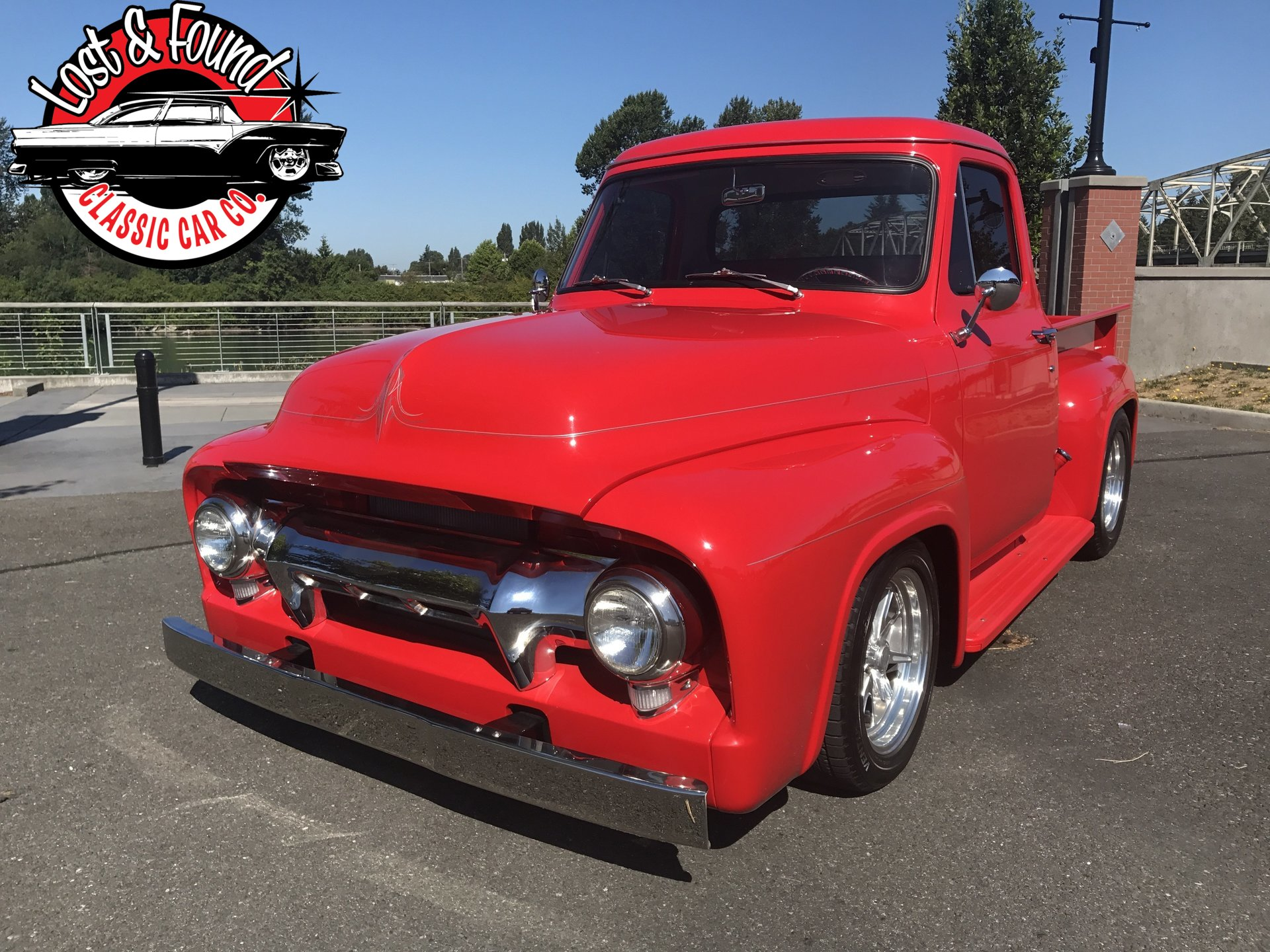 1954 Ford F100 Pickup For Sale 94771 Mcg Truck
