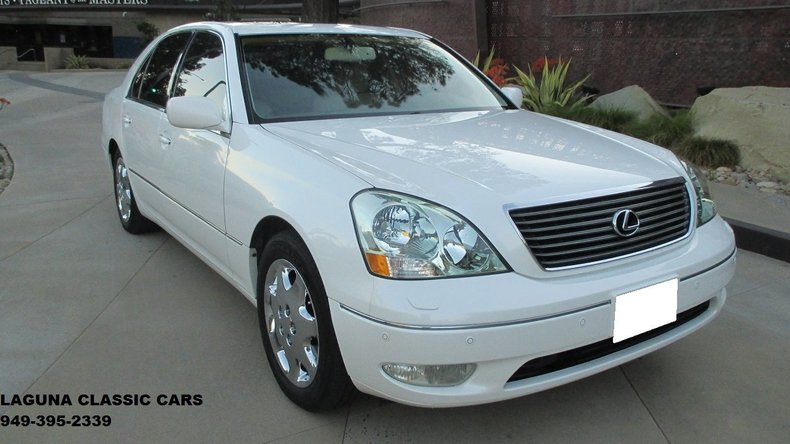 2002 lexus ls430 ultra luxury package for sale 50689 mcg. Black Bedroom Furniture Sets. Home Design Ideas