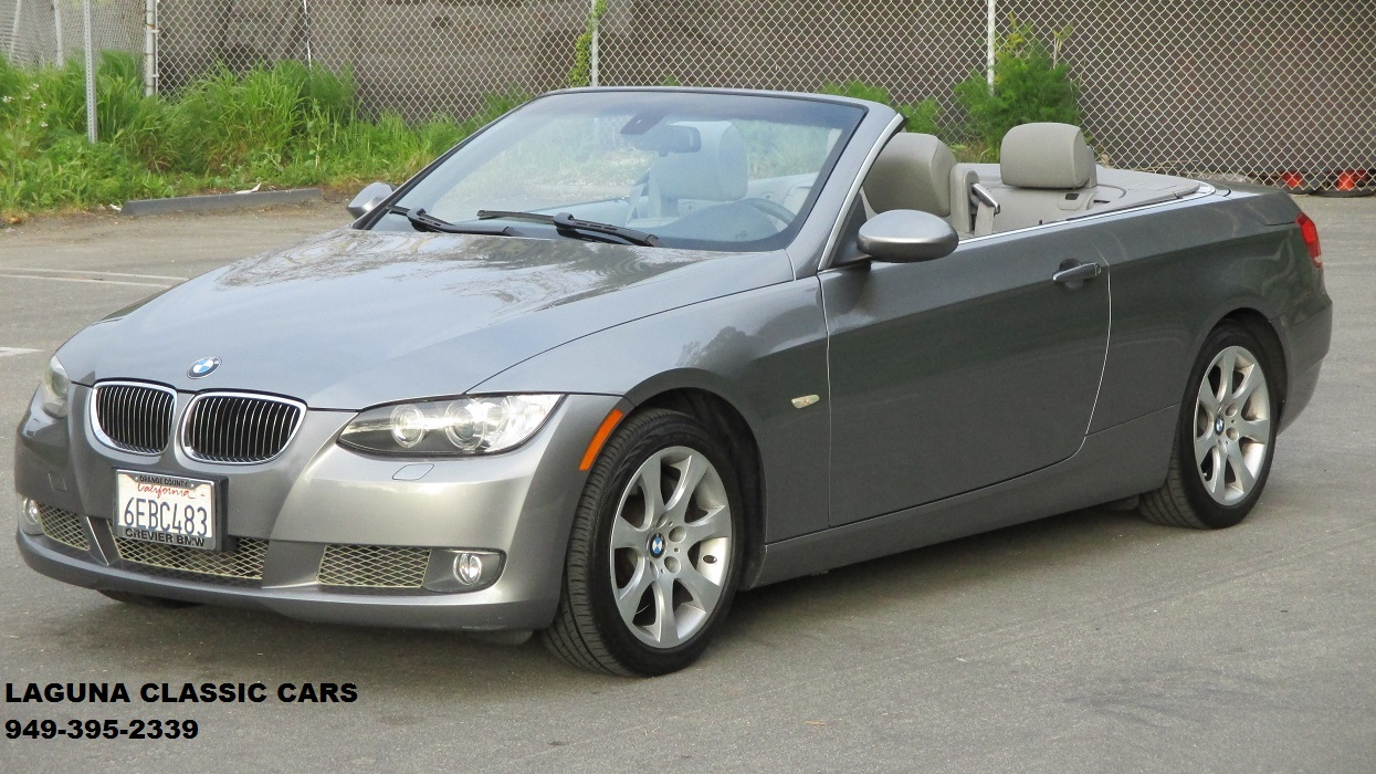 2008 Bmw 335i Laguna Classic Cars Automotive Art Convertible In Excellent Condition