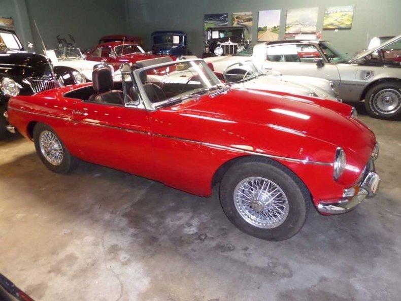 1969 MG B