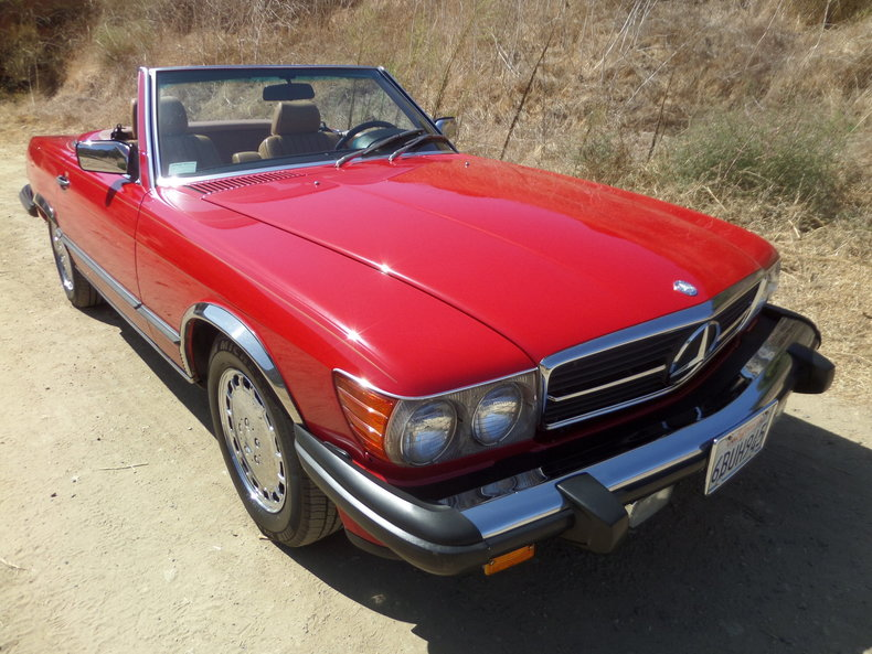 1989 Mercedes-Benz 560 SL