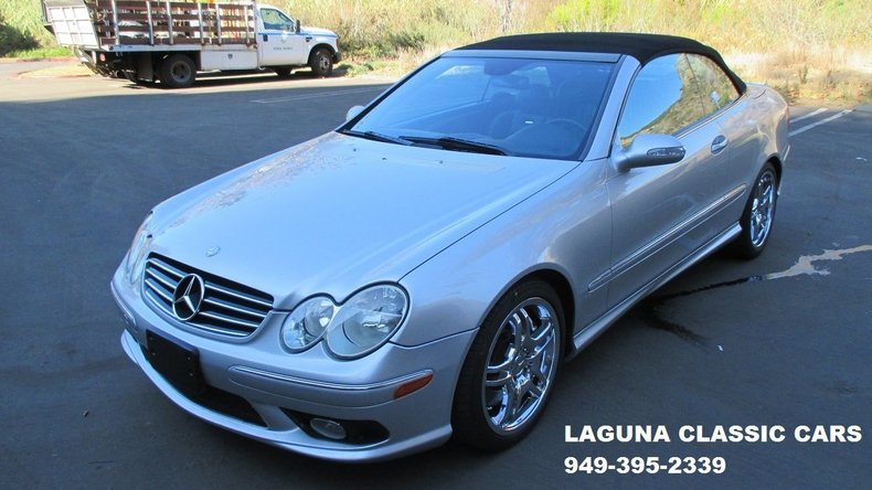 2005 Mercedes-Benz CLK55