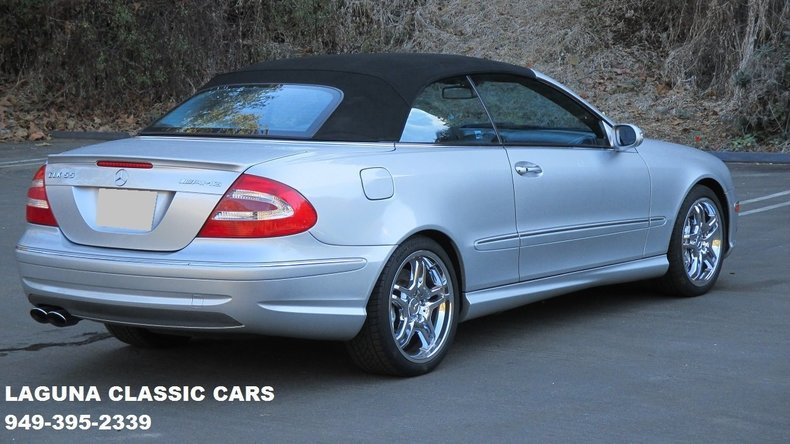 2005 mercedes benz clk55 laguna classic cars. Black Bedroom Furniture Sets. Home Design Ideas