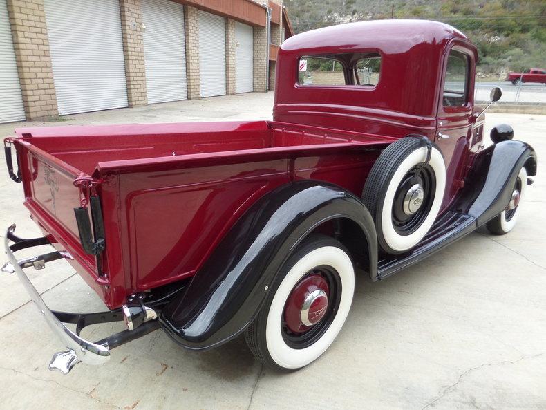 1937 ford 1 2 ton pickup for sale 82889 mcg. Black Bedroom Furniture Sets. Home Design Ideas