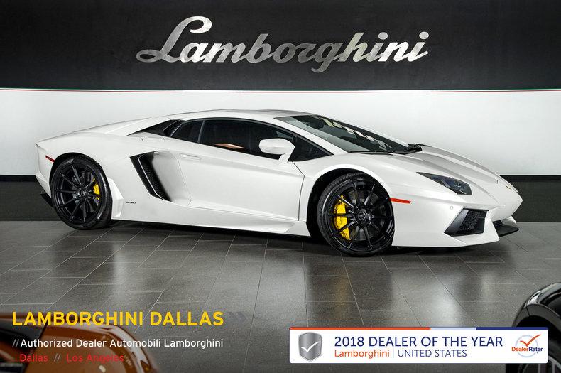 2013 Lamborghini Aventador For Sale