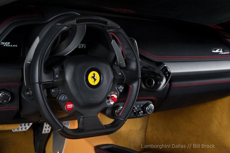 2015 Ferrari 458 Italia  - Lamborghini Dallas