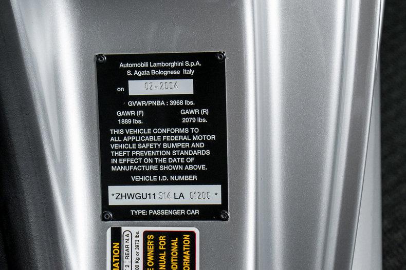 2004 Lamborghini Gallardo Coupe - Lamborghini Dallas