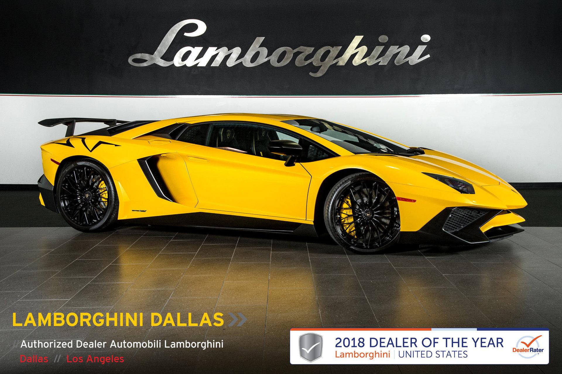 2016 Lamborghini Aventador SV LP 750 4 for sale