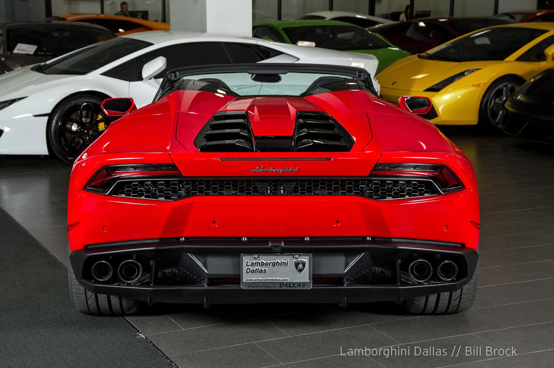 Lamborghini Huracan Spyder For Sale