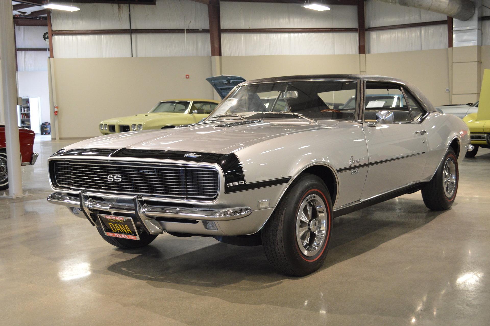 1968 Chevrolet Camaro Leaded Gas Classics Chevy Muscle Car Interior 15628cb461c8 Hd Dana