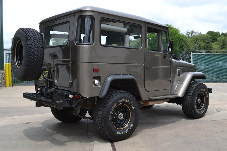 1967 Toyota Fj40 Leadfoot Musclecars
