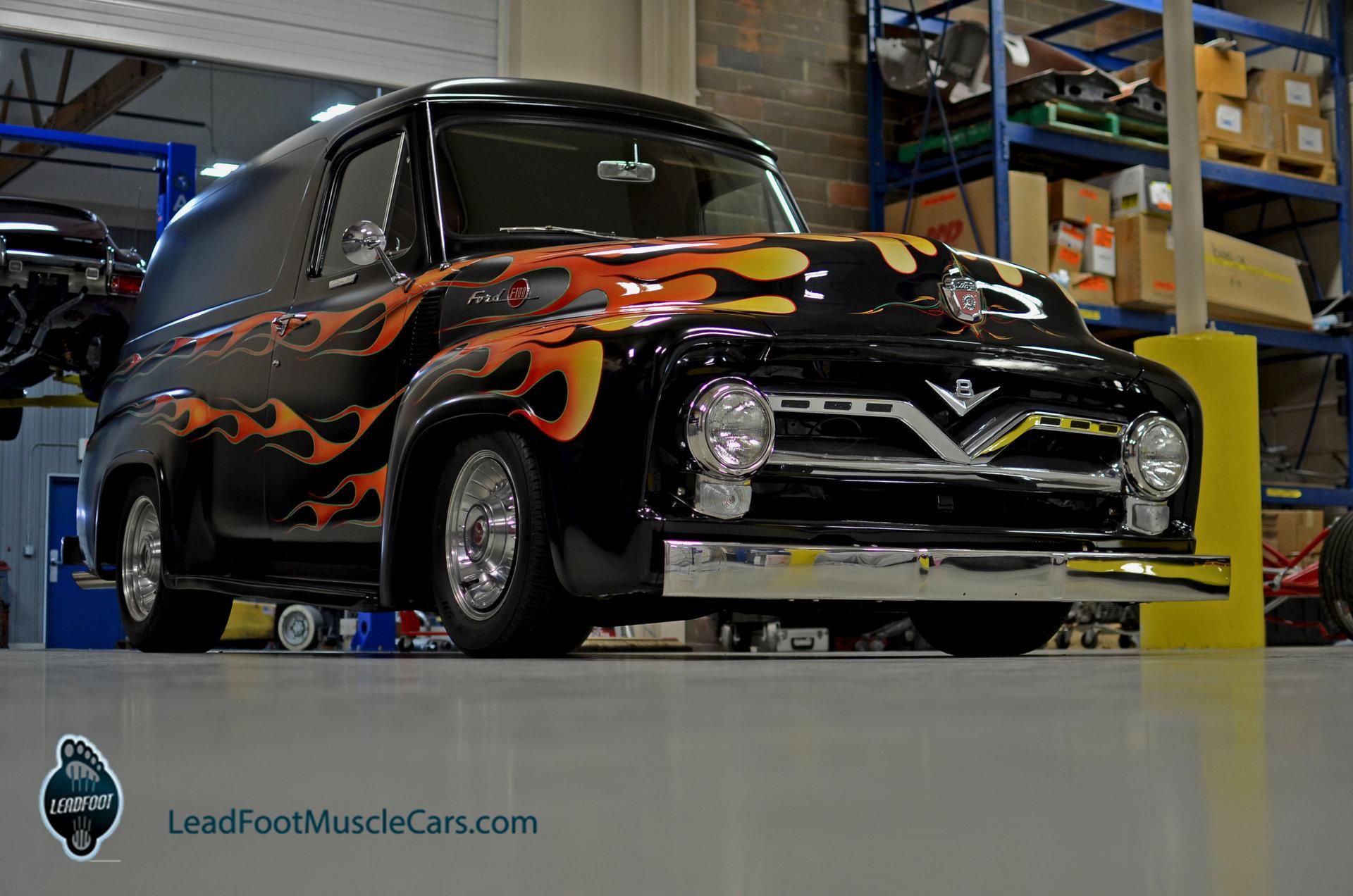 1955 Ford F100 Berlin Motors Wheels For Sale
