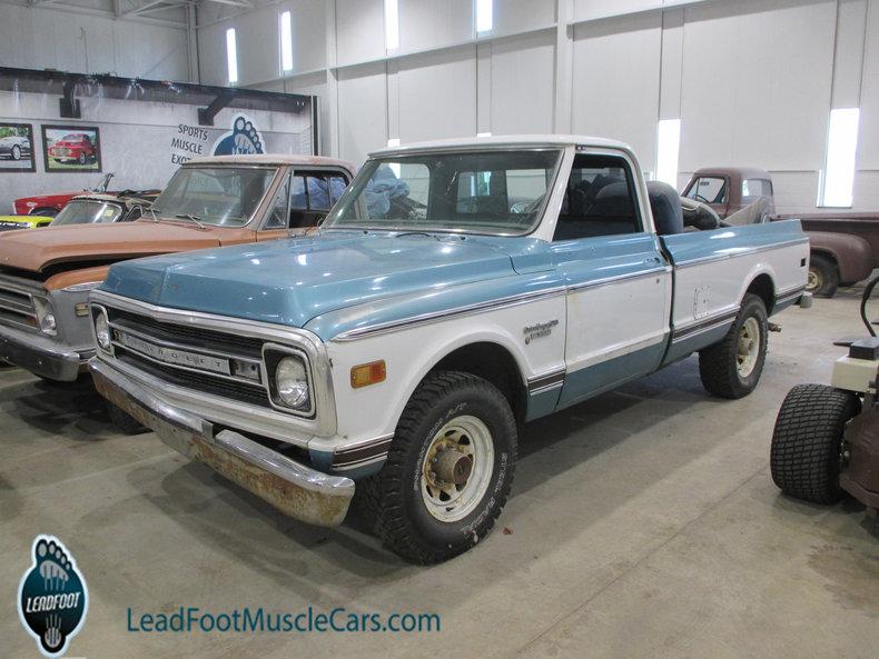 1969 Chevrolet 3/4-Ton Pickup