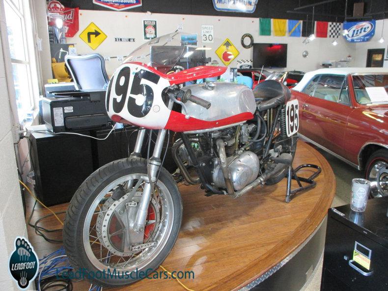 1967 Triumph Track Bike
