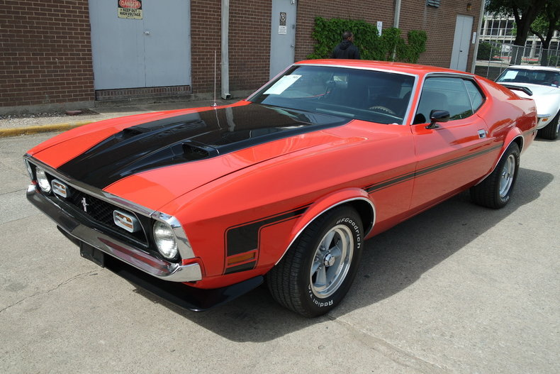 1971 1971 Ford Mustang Mach 1 For Sale