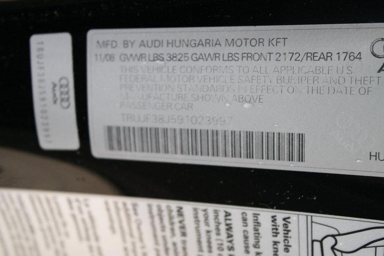 2009 2009 Audi Prestige S-Line TT For Sale