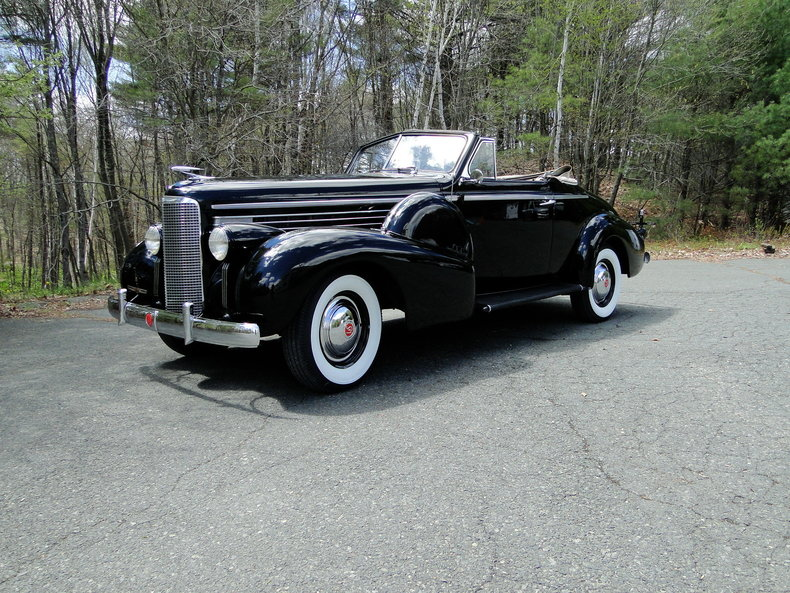 1938 LaSalle 2 Door Convertible Coupe