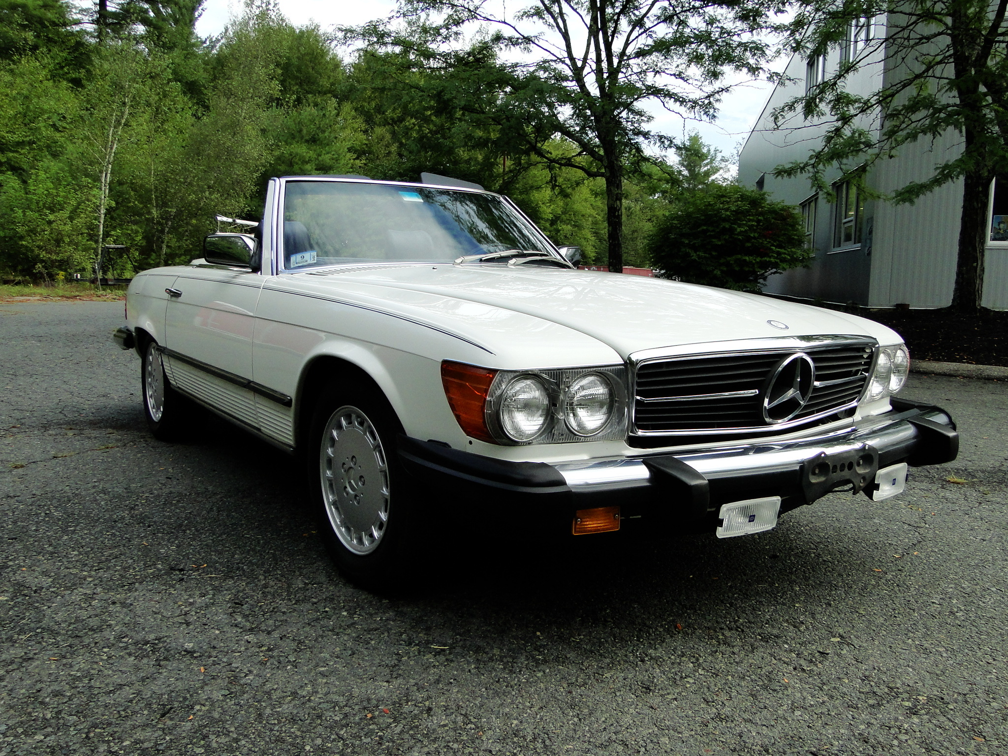 1984 Mercedes Benz 380SL Convertible