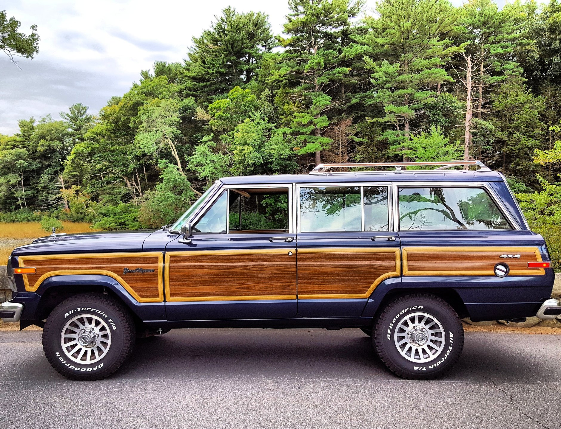 1991 jeep grand wagoneer for sale 83196 mcg. Black Bedroom Furniture Sets. Home Design Ideas